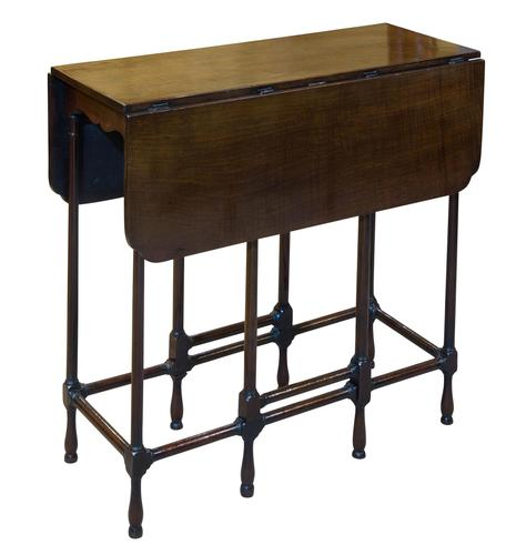 Very Fine George III Chippendale Period Drop-leaf Gateleg Table (1 of 6)