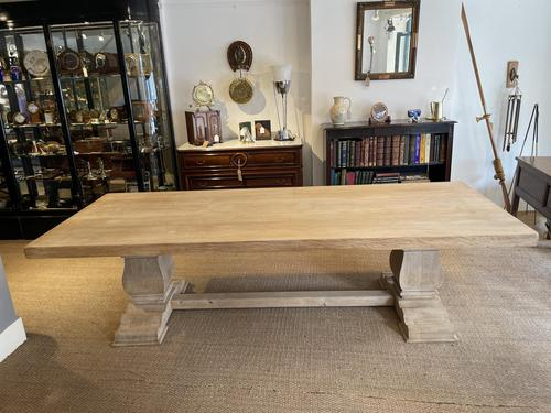 Large Wide Oak Refectory Table (1 of 13)