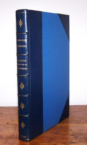 1950 Gun for Company by E. C. Keith, 2nd  Edition, Signed by Illustrator (1 of 4)