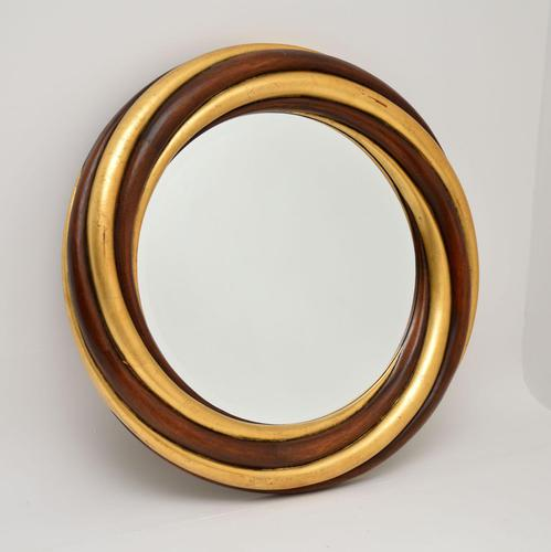 Vintage Large Giltwood Mirror by Harrison & Gil (1 of 11)