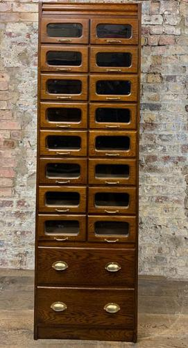 1930s Shoe Drawer Cabinet (1 of 7)