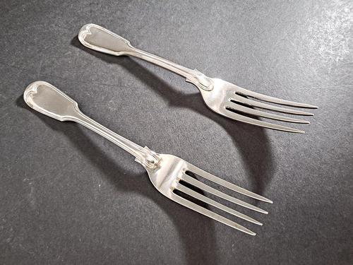 Two Victorian Silver Forks (1 of 3)