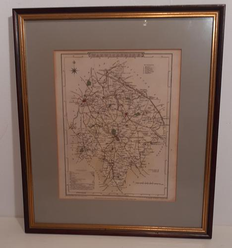 Antique Map of Warwickshire, 1807 (1 of 5)