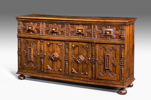 Late 19th Century Oak Dresser Base (1 of 6)