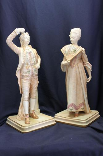 """Royal Worcester Figurines """"The Health of the King"""" (1 of 3)"""