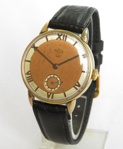 Gents 1950s Meda Wrist Watch (1 of 5)