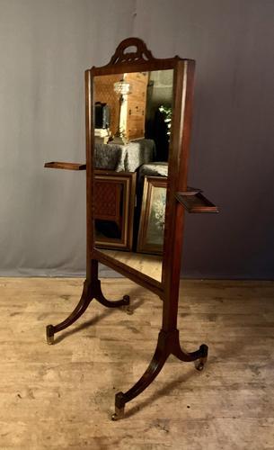 Regency Period Metamorphic Cheval Dressing Mirror (1 of 8)