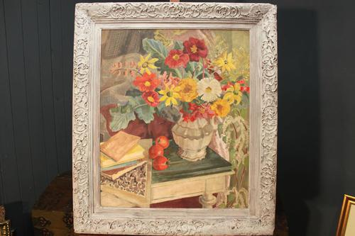 Peggy Rutherford 1930s Oil on Canvas (1 of 5)