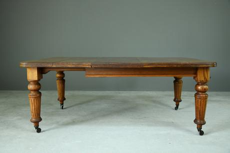 Victorian Mahogany Extending Dining Table (1 of 12)