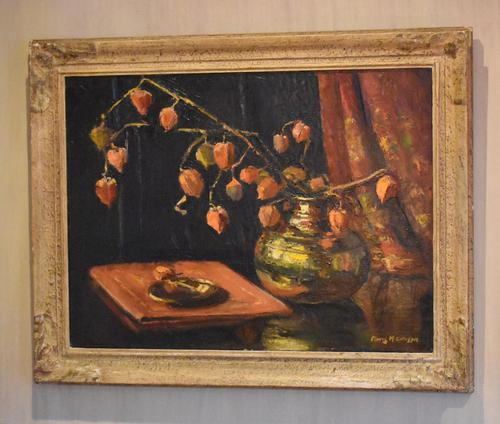 Still Life Oil Painting by Floris M. Gillespie (1 of 9)