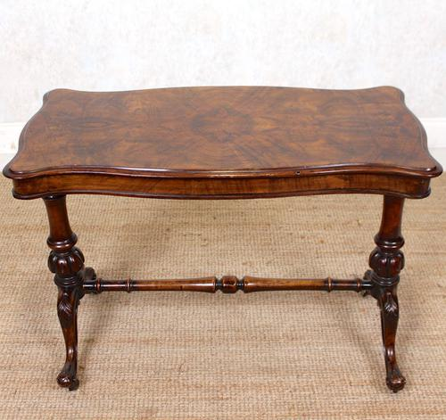 Walnut Writing Table Desk 19th Century Victorian (1 of 9)