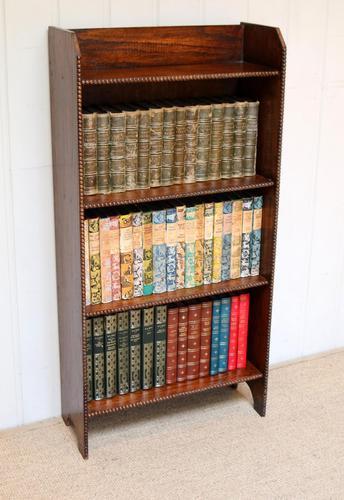 Oak Open Bookcase c.1920 (1 of 8)