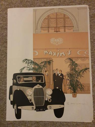 Old Time Restaurant in Paris; Maxim's de Paris (1 of 1)