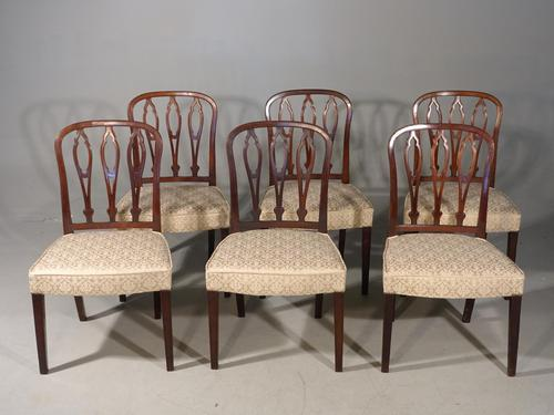 Very Good Set of 6 George III Period Hooped Backed Single Chairs (1 of 3)