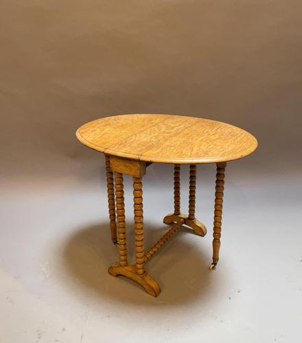 Victorian Oak Sutherland Table (1 of 10)