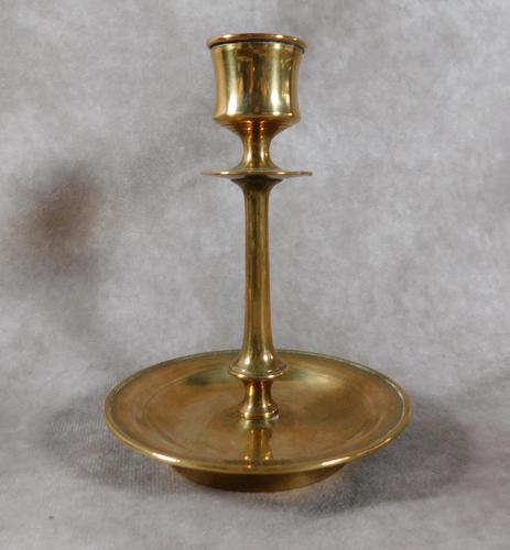 19th Century, Westerås Metallfabriks Aktiebolag, Brass Candlestick (1 of 4)