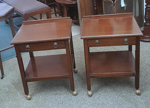 Pair of Low Side Tables (1 of 5)