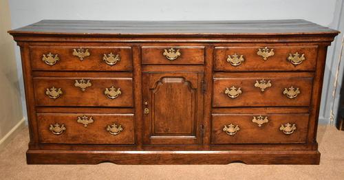 Mid 18th Century George III Large Oak Dresser Base (1 of 11)