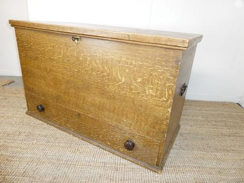 19th Century Scumbled Blanket Box (1 of 12)