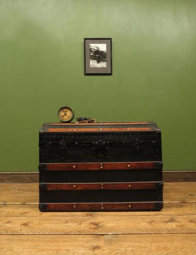 Antique Dome Top Pirates Trunk Storage Chest (1 of 12)