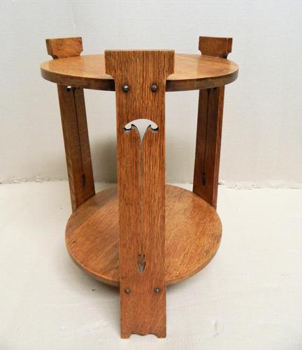 Arts & Crafts Oak Table (1 of 6)
