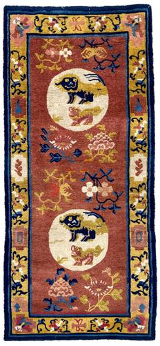 Antique Chinese Ningxia Rug (1 of 9)