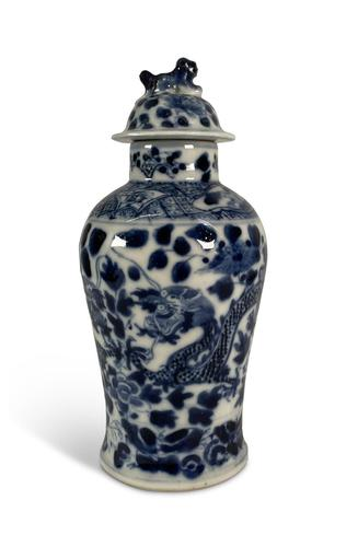Small Chinese Lidded Jar (1 of 7)