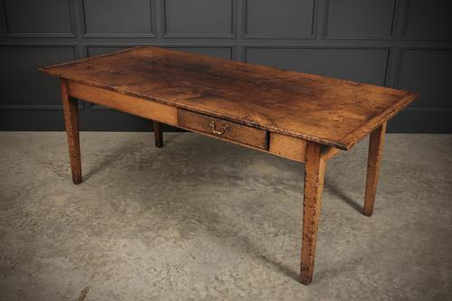 French Rustic Oak Dining Table (1 of 13)