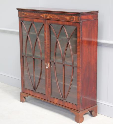 19th Century Mahogany Glazed Display Cabinet (1 of 7)