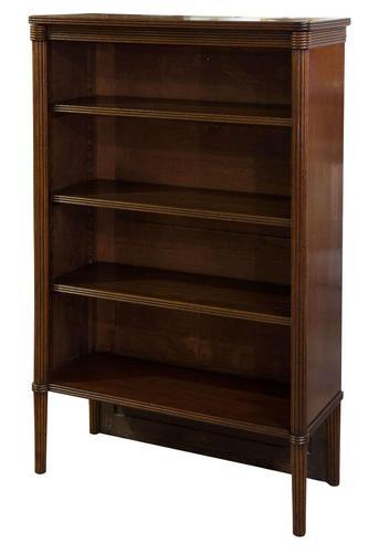 Regency Mahogany Open Bookcase (1 of 6)