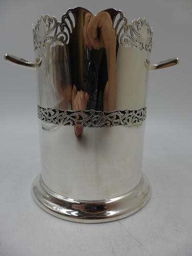 Silver Bottle Holder Birmingham 1931 (1 of 8)