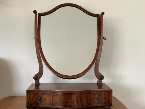Edwardian Sheraton Style Dressing Mirror (1 of 3)