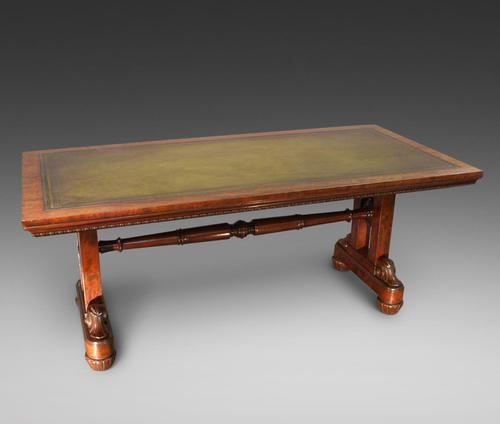 Large Library Writing Table in the Manner of Gillows (1 of 6)