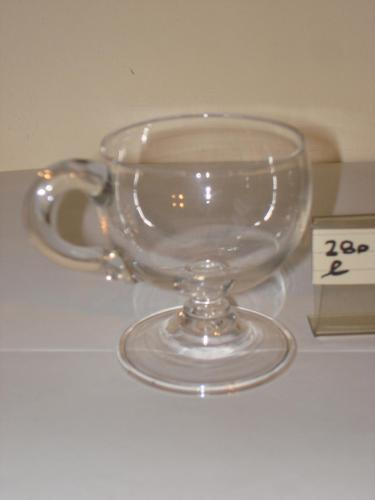Victorian Glass Custard Cup (1 of 1)