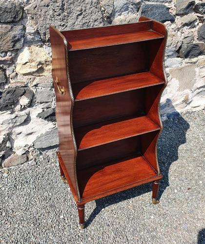 Regency Double Sided Waterfall Bookcase (1 of 7)