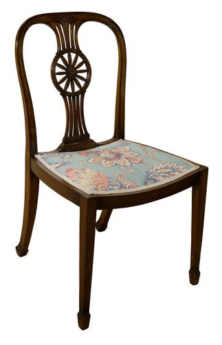 Early 20th Century Mahogany Chair Stamped with Waring & Gillow (1 of 5)