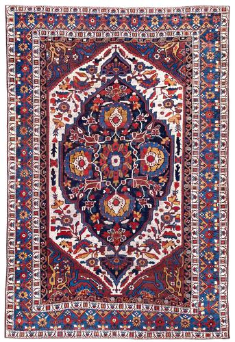 Antique Khamseh Rug 2.04m x 1.41m (1 of 10)