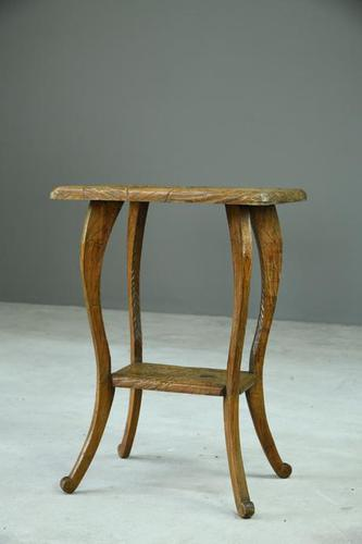 Liberty Carved Japanese Side Table (1 of 12)