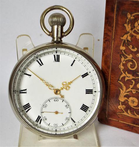 1920s Cyma Stem Winding Pocket Watch (1 of 4)