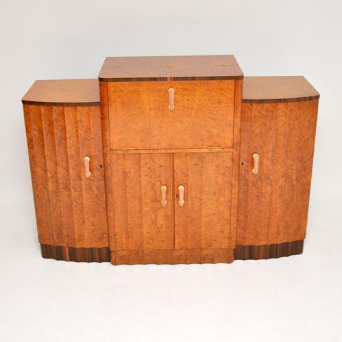 Art Deco Burr Walnut Cocktail Cabinet / Sideboard by Epstein (1 of 12)