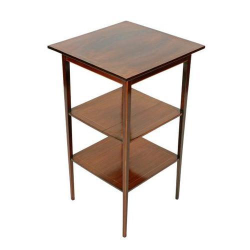 Edwardian Mahogany Lamp Table (1 of 7)