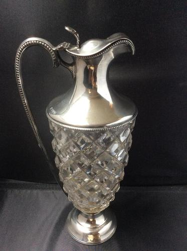 Solid Silver Topped Wine Ewer (1 of 6)