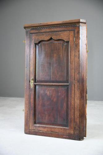 Large Mahogany Georgian Corner Cupboard (1 of 12)