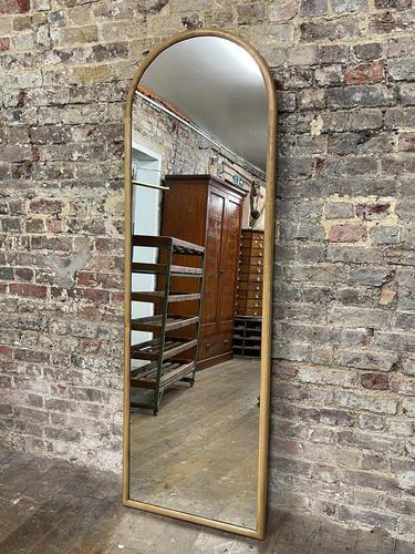 Art Deco Oak Mirror (1 of 4)