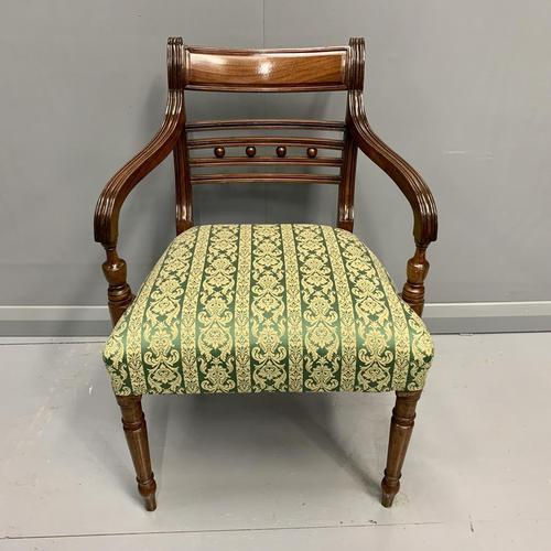 19th Century Regency Carver Armchair (1 of 5)