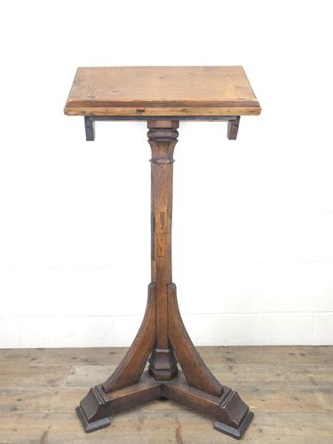 Antique Wooden Lectern Book Stand (1 of 8)