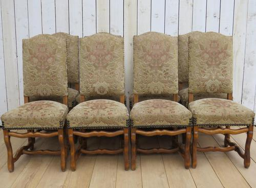 Set of Eight French Dining Chairs (1 of 7)