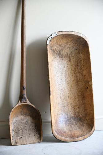 Rustic Dough Trough & Paddle (1 of 12)