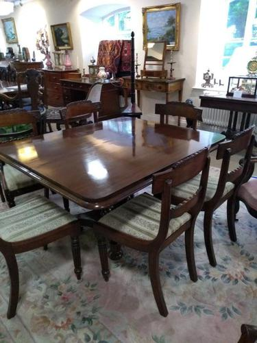 Large Victorian Mahogany Tilt Top Breakfast Table or Dining Table (1 of 9)