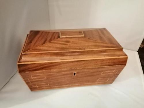 Regency Sarcophagus Shape Box (1 of 8)
